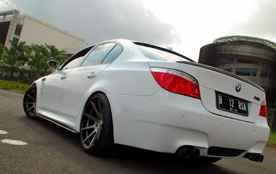 Modified BMW 523i 2008, More Sporty from New Generation
