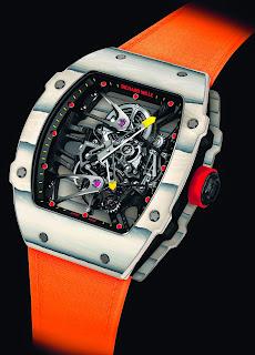La montre de Rafael Nadal à Roland Garros: la Richard Mille RM 27-02