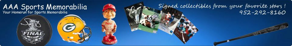 AAA Sports Memorabilia Blog