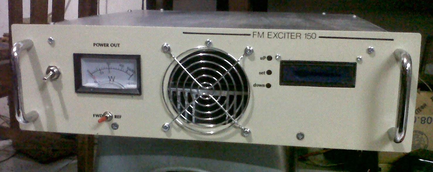 Pemancar FM stereo 150watt