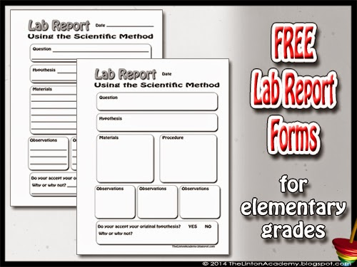 Free Lab Report Forms