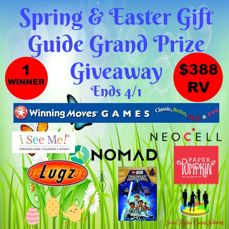 Spring In To Easter Gift Guide Giveway