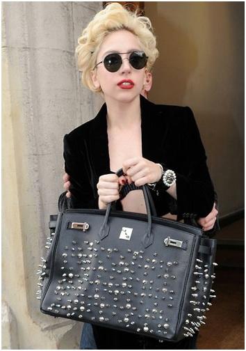 Lady Gaga Hermes