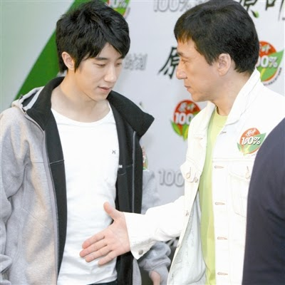 jackie chan son arrested