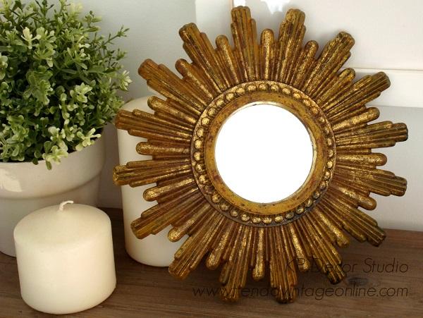 Comprar espejo vintage tipo sol