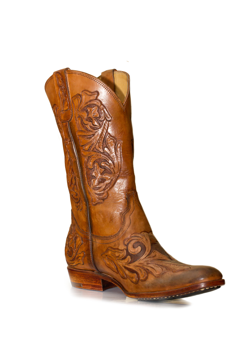 luxury cowboy boots elevator shoes