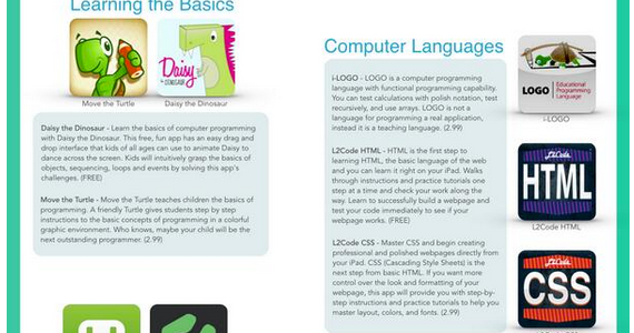 Teaching Coding in Class: 17 Apps to Try