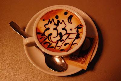 art gallery in a cup of coffee21 Koleksi Gambar Kesenian Corak Air Kopi dalam Gelas