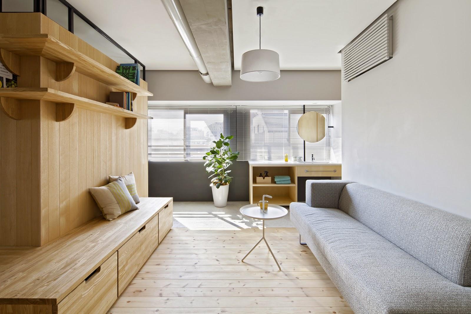 Wohnen auf japanisch: minimalistisches Design mit klaren Möbeln