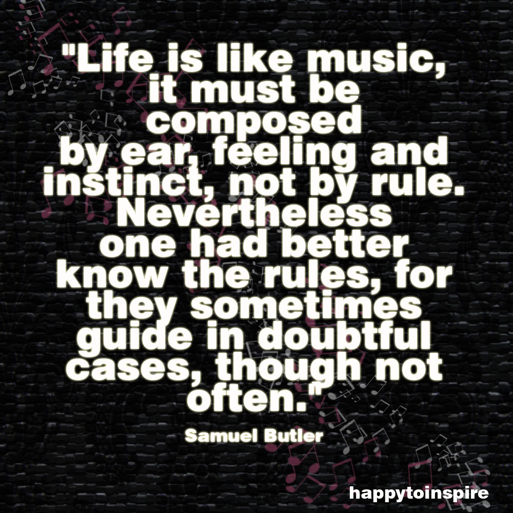 Quotes Music Happy To Inspire Quote Of The Day Life Is Like A Music
