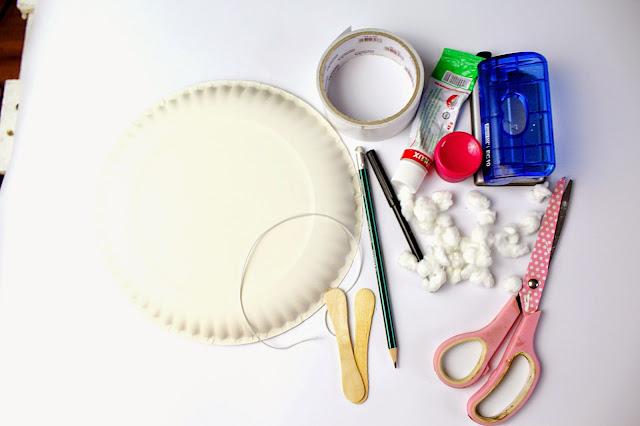 Maski dla dzieci z talerzyka