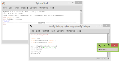 PySide for Python 3