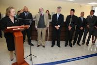 Presidente do TJRJ, desembargadora Leila Mariano, inaugura novo prédio do Fórum em Teresópolis
