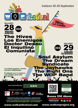 The Hives se incorporan al cartel del WOP Festival de Bilbao