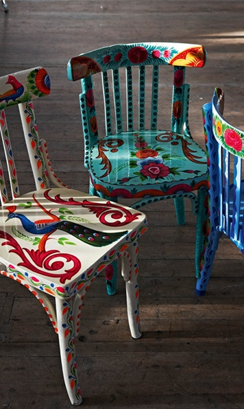babylon sisters painted furniture