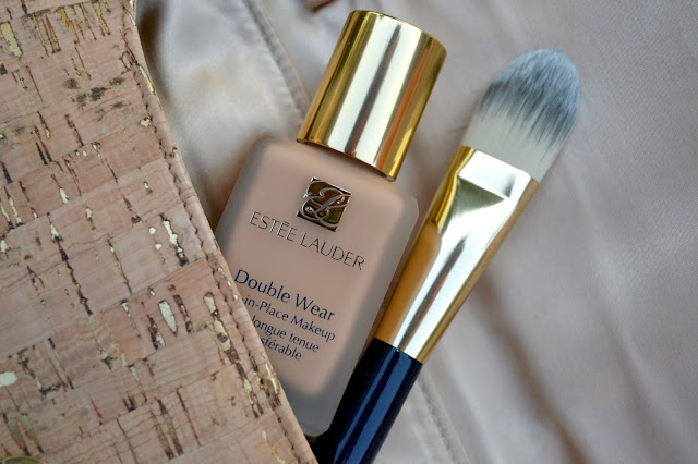 mommy testers perfect foundation match with Estee Lauder Double Wear foundation