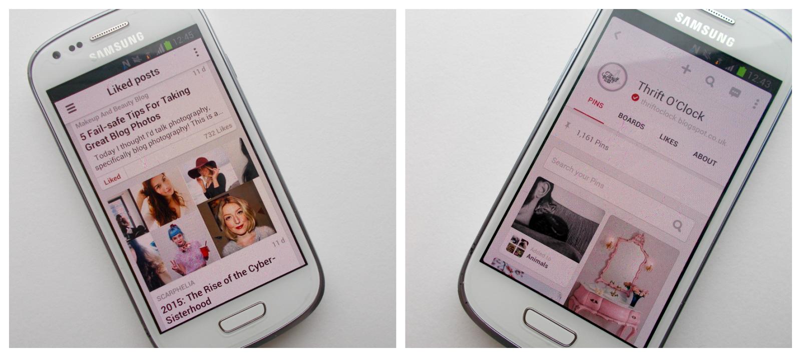 pinterest bloglovin apps favourites blog