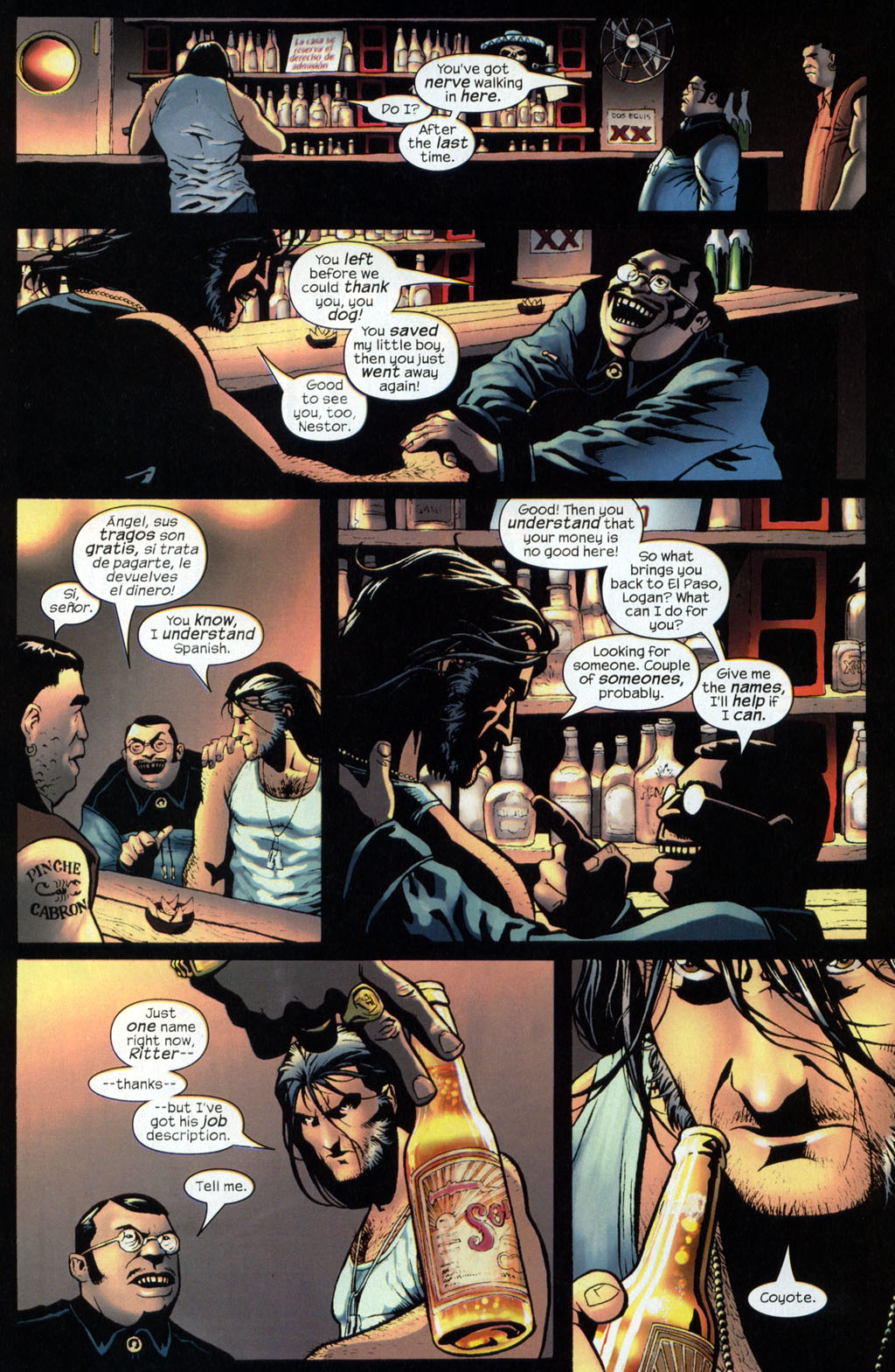 Read online Wolverine (2003) comic -  Issue #7 - 21