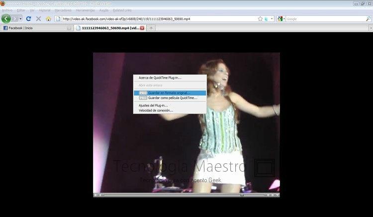 Descargar vídeos desde Facebook fácilmente