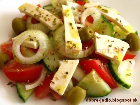 Grécky šalát - recepty
