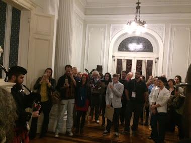 Abertura festiva do VI Colóquio Nacional no Palácio Rio Negro em Petrópolis/RJ