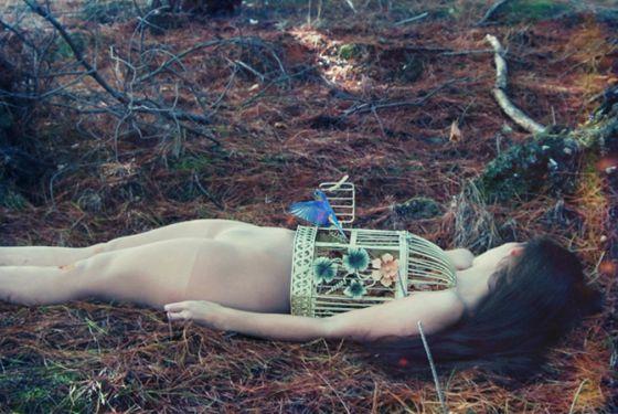 Dara Scully fotografia contos de fadas menina