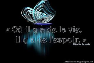 Image citation d'espoir