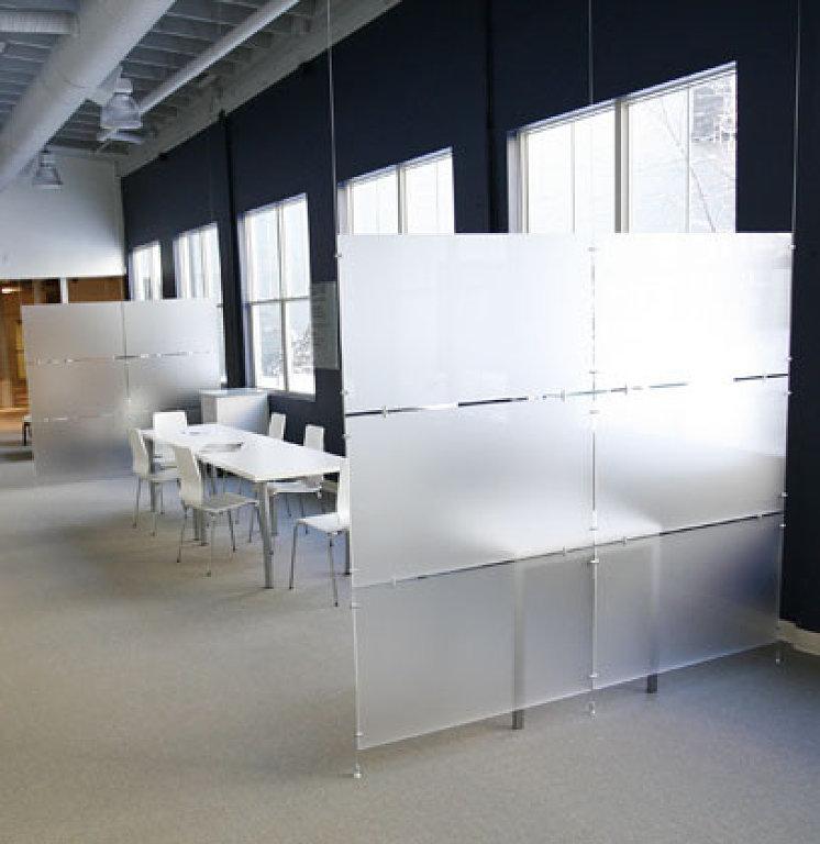 Produccionvisual dise o de espacios - Separadores de oficina ...