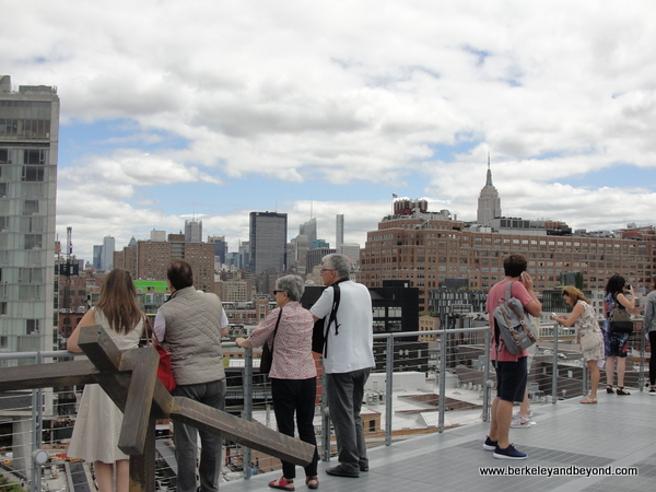 view from balcony at new Whitney Museum of American Art in NYC