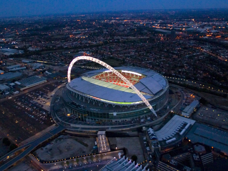 an analysis of the wembley stadium building project