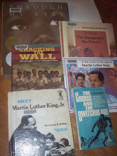 Selected reading - Books on the US Civil Right Movement, and Martin Luther King Jr