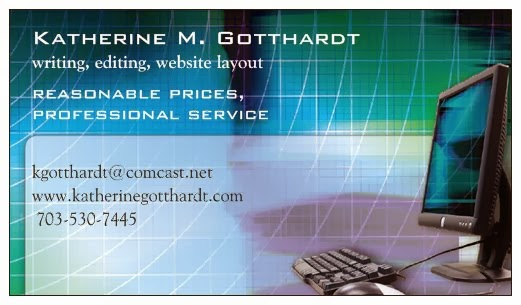 Writing, Editing and Web Services