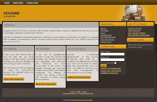 joomla 1.7 professional business template