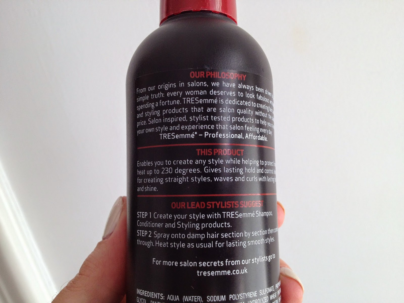 Tresemme Thermal Creations Style Creator Spray