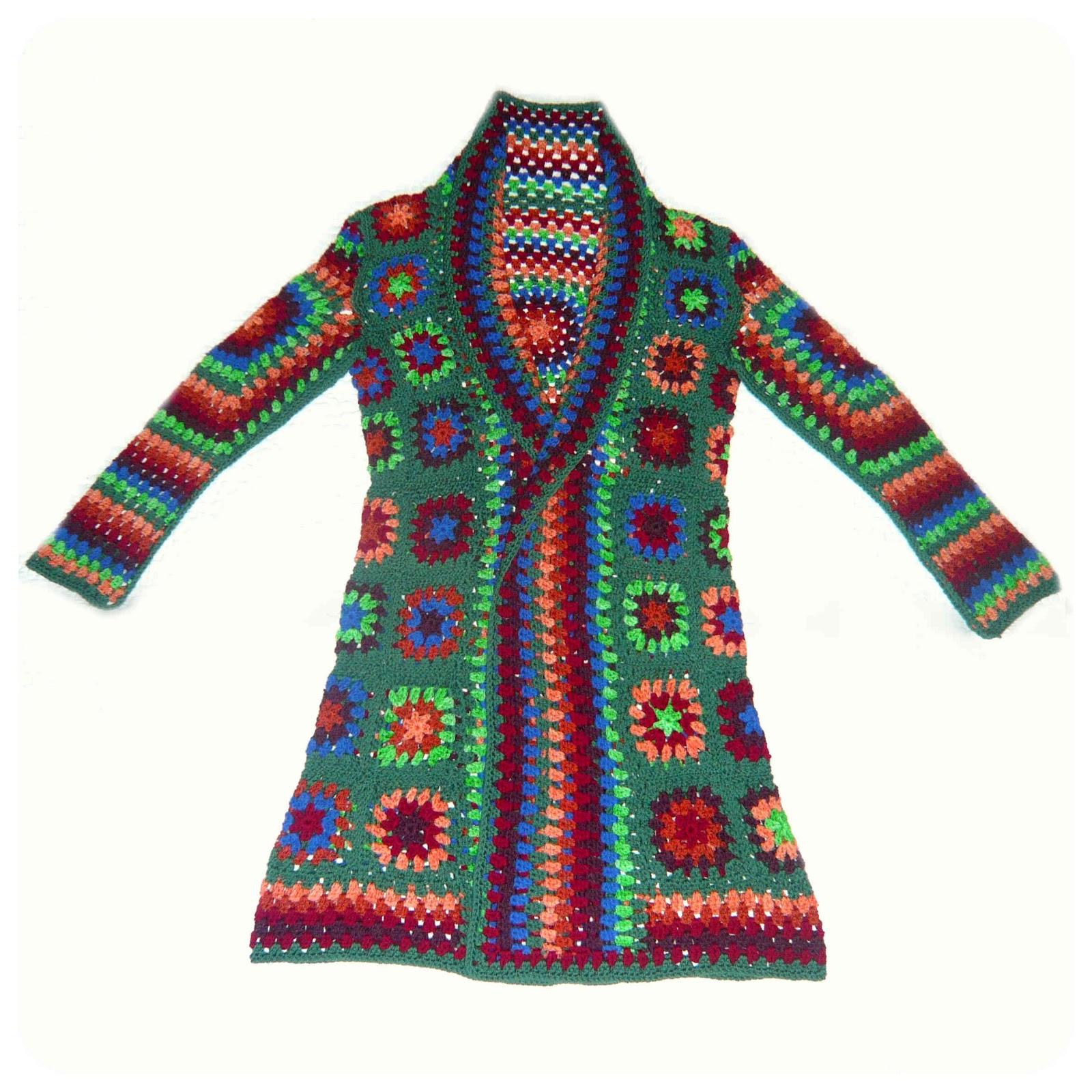 Crochet Jacket Extraordinaire!