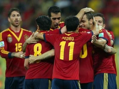 España vs Nigeria en vivo 2013