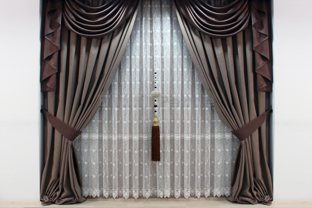 fon perde modelleri elif perde. Black Bedroom Furniture Sets. Home Design Ideas