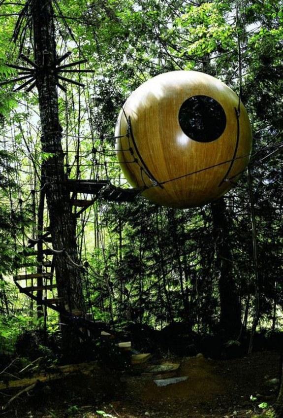 Free Spirit Sphere Treehouses — Canada