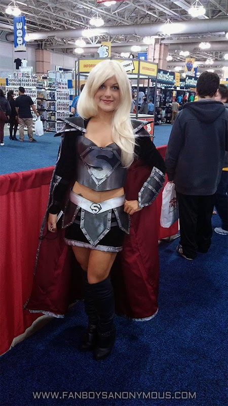 ACBC convention Supergirl black cosplay