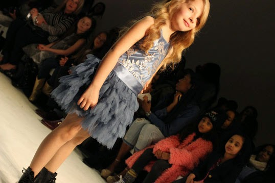 Chichi Mary | petitePARADE Fashion Show Fall 2015: Biscotti and Kate Mack Cinderella-inspired dress