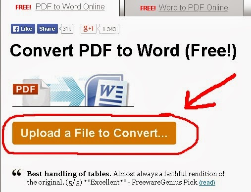 Cara Merubah PDF ke Word atau Word ke PDF