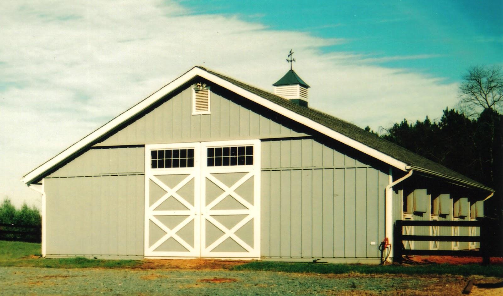 Rose valley ranch plans for Equestrian barn plans