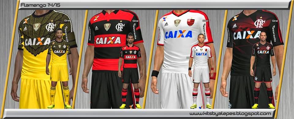 Uniforme do Flamengo Pes 2014 Pes 2014 Kitset cr Flamengo