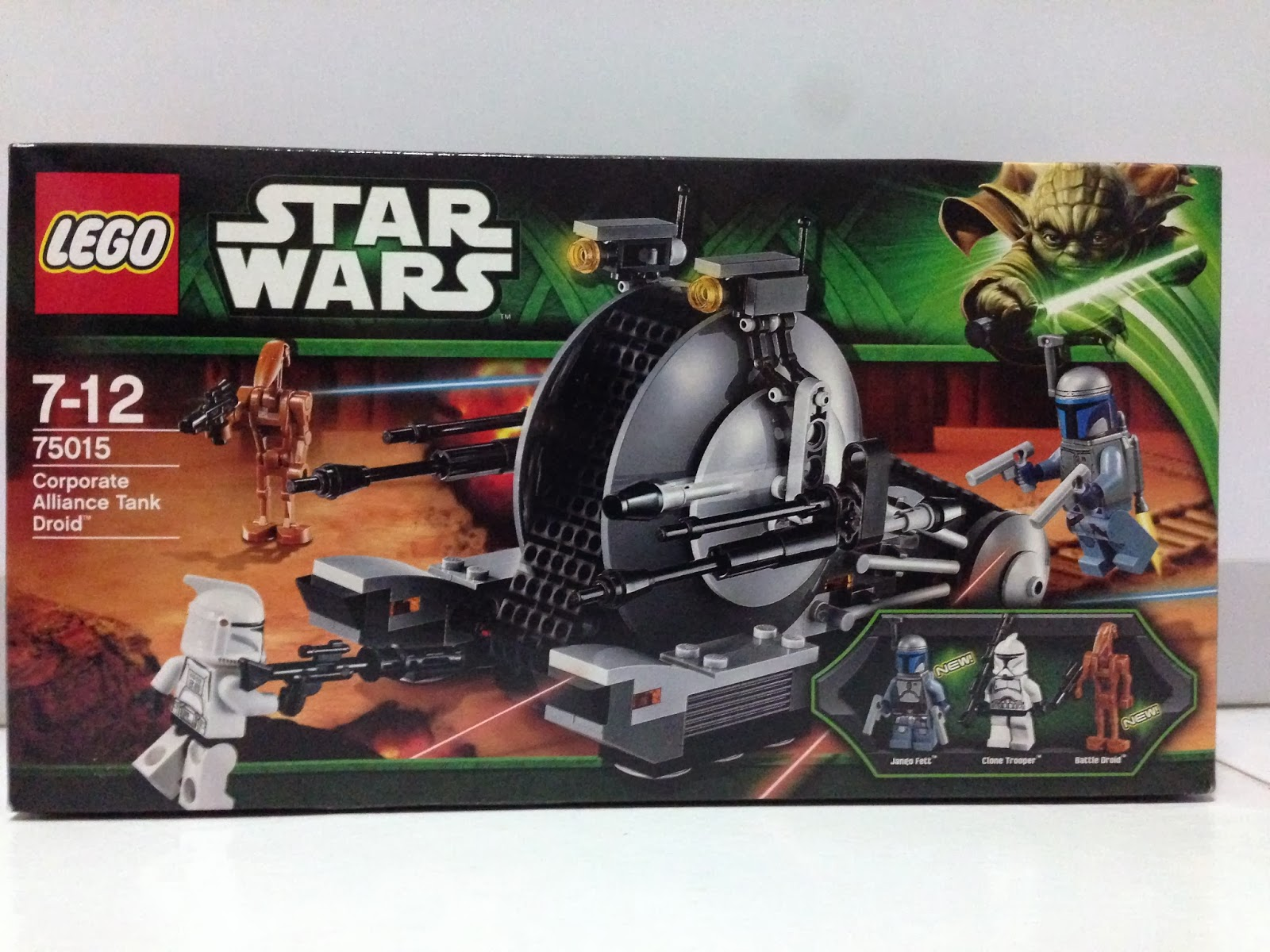 The Marriage Of Lego And Star Wars Review 75015 Corporate Alliance