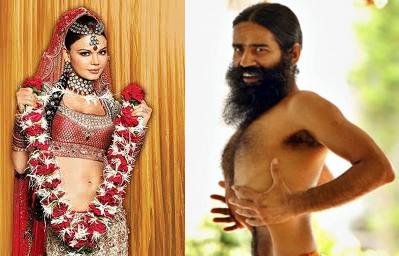 பாபா ராம்தேவ் + ராகி சவாந்த்