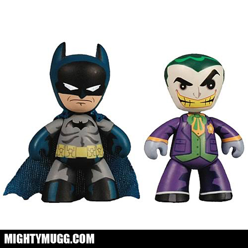 Batman And Joker DC Mini Mez-Itz