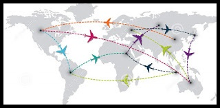 Mapa interativo Thiago e Lu