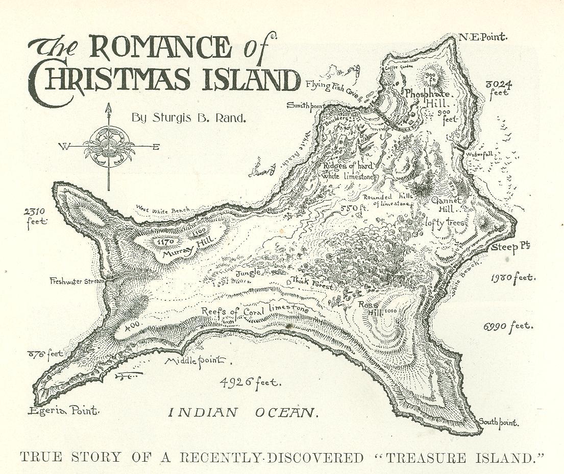 digital history project: Christmas Island Flying Fish Cove Sir John ...
