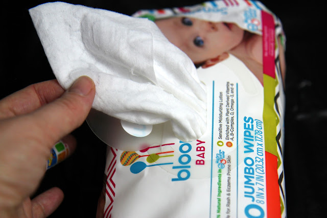 review of bloom BABY Sensitive Wipes