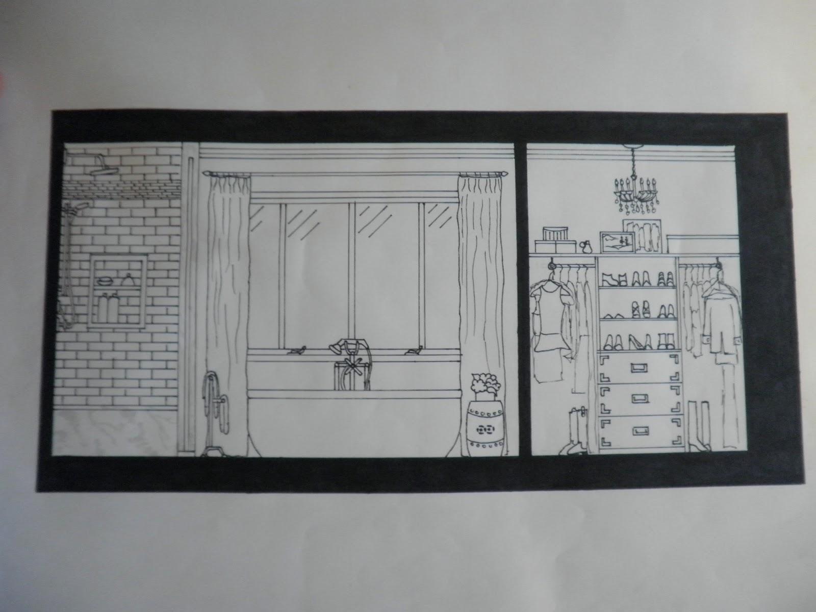 Tiffany leigh interior design bathroom project for Bathroom project plan